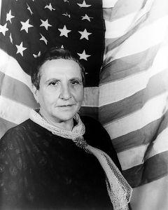 Gertrude Stein fotografert av Carl Van Vechten